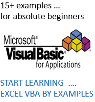 FOR VBA BEGINNERS