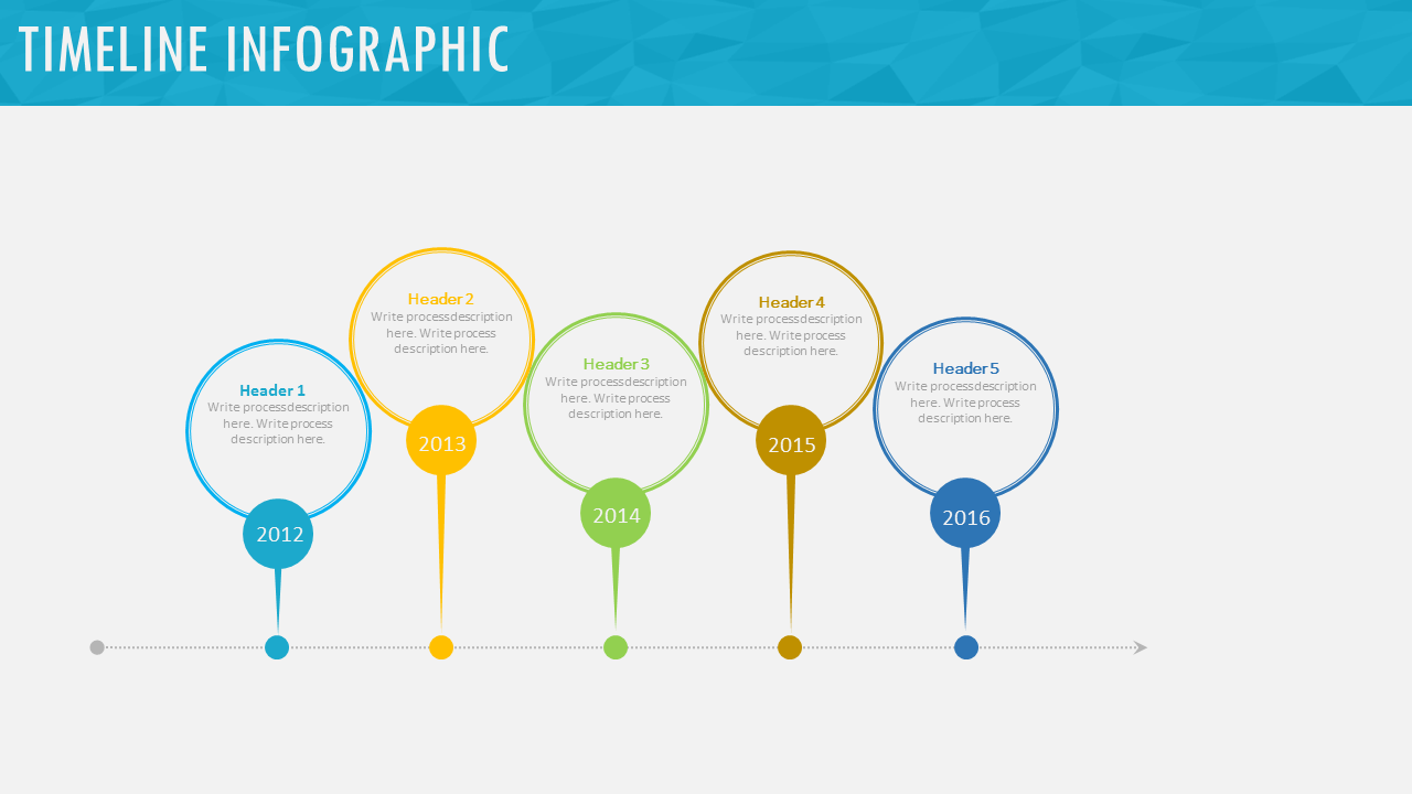 Infographics Process & Timeline